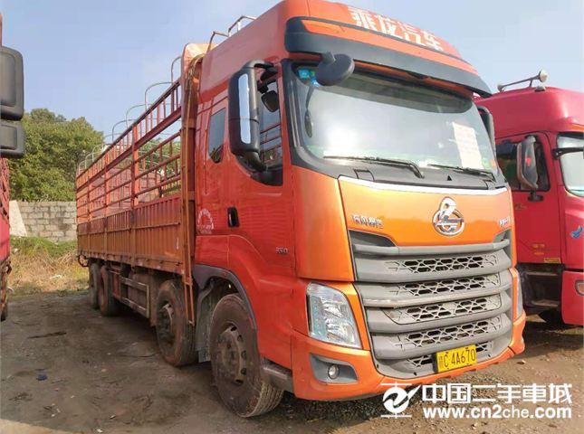 东风柳汽 乘龙 载货车 H7重卡 350马力 8X4 9.6米?#32456;?#24335;