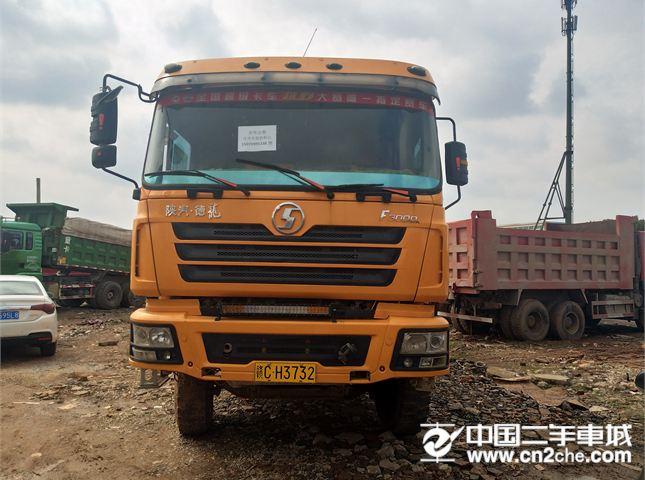 陕汽重卡 德龙F3000 载货车 重卡 340马力 8X4 前四后八  (加强版)