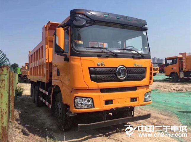 陕汽重卡 德龙X3000 重卡 375马力 6×4 自卸车