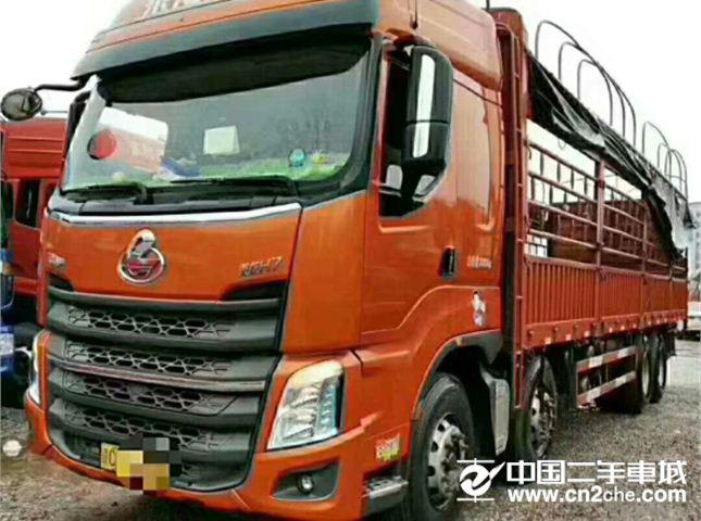 東風柳汽 乘龍 H5 350馬力 8X4 9.5米倉柵式載貨車(LZ5310CCYH5FB)