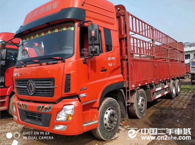 东风 天龙 420马力 8X4 轻量化高栏货车