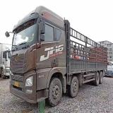 青岛解放 JH6 载货车 JH6重卡 375马力 8X4 9.5?#33258;?#36135;车
