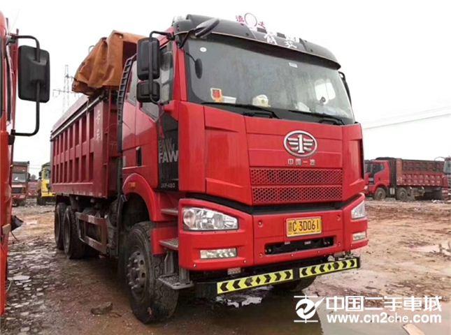 一汽解放 J6P 460动力6X4自卸车