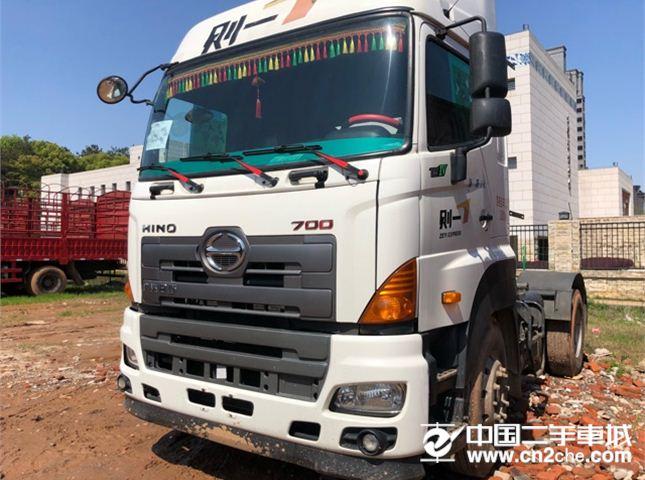 日野 廣汽700系列 重卡 380馬力 4X2 牽引車