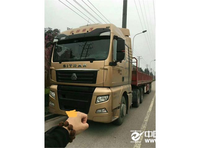 中國重汽 汕德卡 C7H重卡 540馬力 6X2R牽引車(ZZ4256V323HE1)