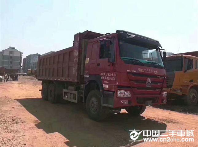中國重汽 豪沃 380馬力后八輪自卸車