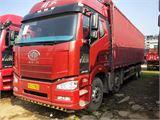 一汽解放 J6P 載貨車  350馬力8×4廂式載貨車(標載型)