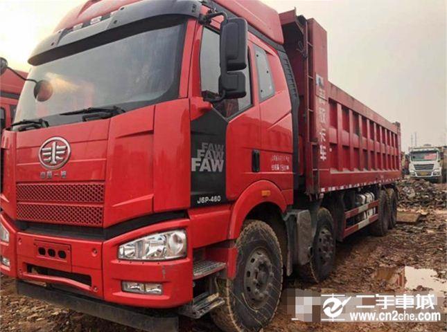 一汽解放 J6P 載貨車 重卡 重載型 460馬力 8X4 9.5米欄板載貨車(CA1310P66K