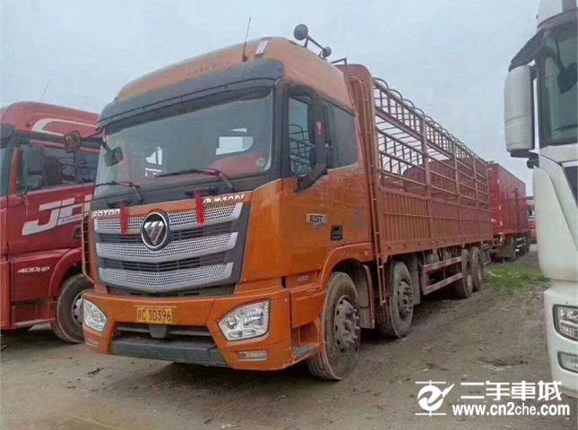 福田 欧曼 EST400马力9.6米载货车