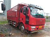 一汽解放 J6L 中卡180馬力4X2 6.8米倉柵式載貨車