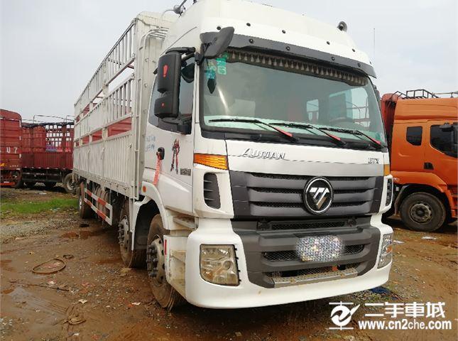 福田欧曼欧曼ETX245马力前四后四9.6米仓栅式价格14.20万
