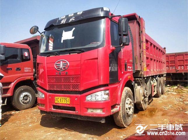 一汽解放 J6L 重卡320马力6X2中置轴轿运车