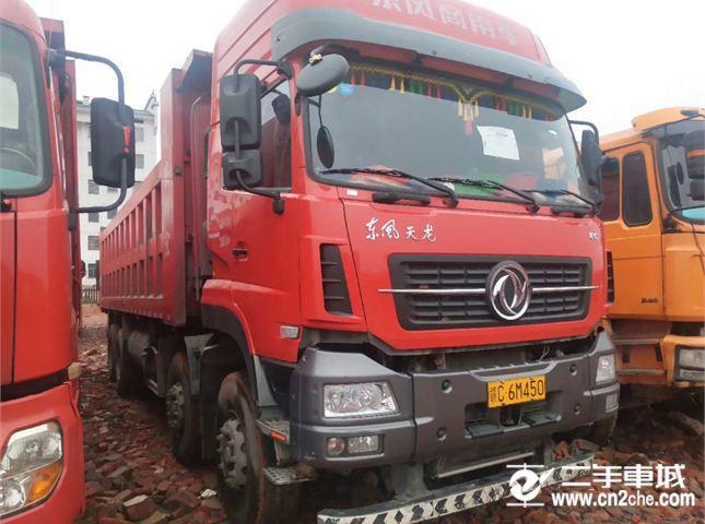 東風 天龍 自卸車 KC重卡 420馬力 8X4 8.8米自卸車(雙機牌)(AY5310ZLJA4)