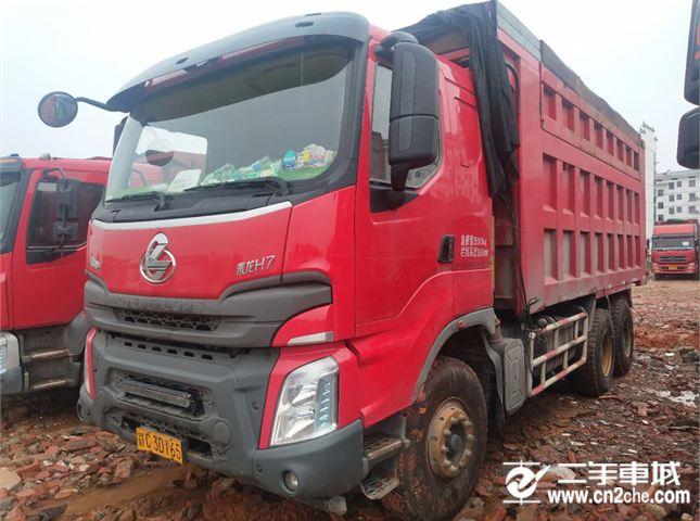 东风柳汽 乘龙 自卸车 H7 重卡 400马力 6X4