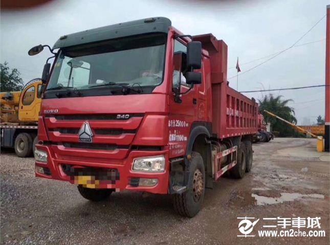 中國重汽 豪沃 336馬力 6X4 自卸車(ZZ3257N3648B)