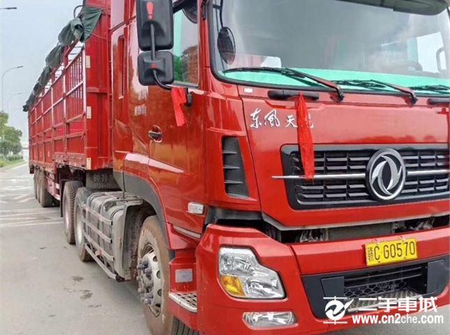 东风 天龙 450动力6X4牵引车