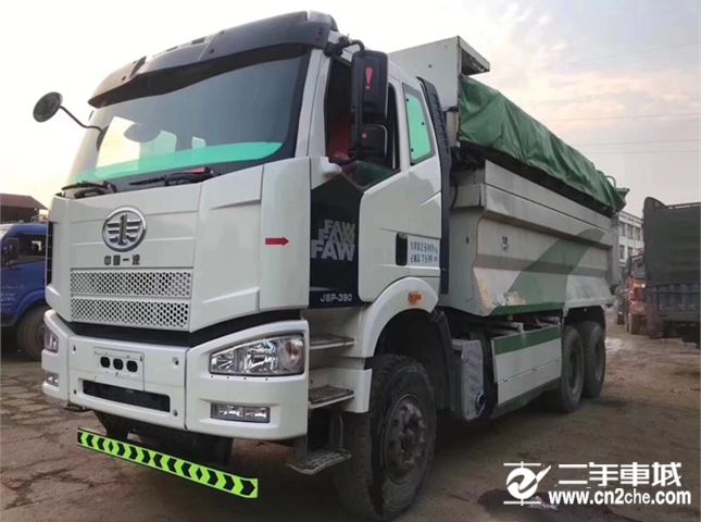 一汽解放 J6P 390动力6X4自卸车