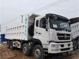 中国重汽 豪沃 出售二手前四后八轮自卸车工程货车 可提档 豪沃前四后八渣土车