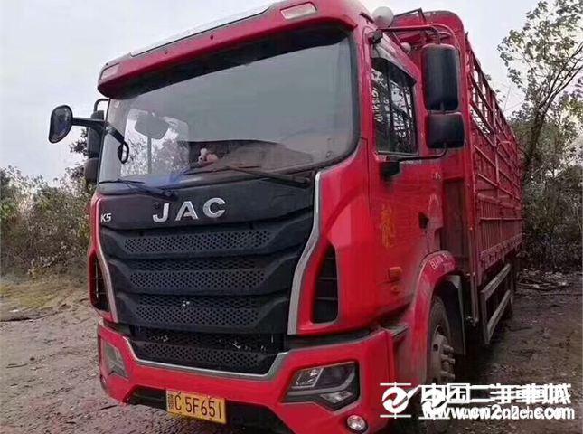 江淮 江淮格尔发K系列 载货车 K5中卡 180马力 4X2 6.8米仓栅式载货车(HFC5181CCYP3K2A50S2V)