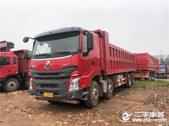 东风柳汽 乘龙 H7,400马力8X4自卸车