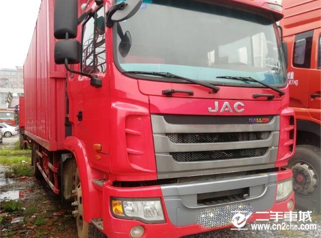 江淮江淮格尔发K3160马力7.7米厢式车厢价格5.60万