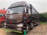 一汽解放 J6P 重卡 350马力 8×4 仓栅式 排半 载货车(CA5310CCYP...