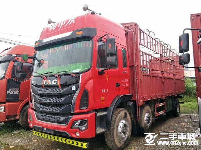 江淮 江淮格爾發K系列 載貨車 K5ⅡX重卡 240馬力 6X2 7.8米倉柵式載貨車(HFC5251CCYP2K2D46S1V)