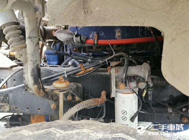陜汽重卡 德龍攪拌車 F3000 375馬力 6X4(SX5255GJBJT384)