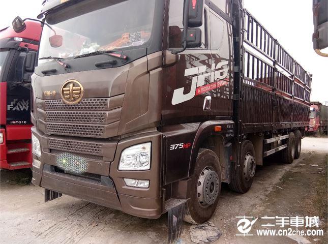 青岛解放 JH6 375马力 带全保  前四后八载货车
