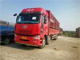 一汽解放 J6 載貨車 350馬力 8X4 前四后八  倉柵(變速箱12Js160)