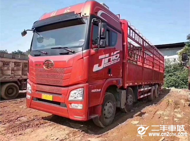 青島解放 JH6 420馬力 9.6米高欄