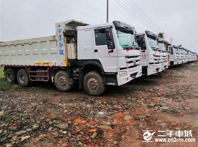 中國重汽 豪沃  A7 自卸車 HOWO A7系重卡 380馬力 6X4 自卸車(ZZ3257N3047N2