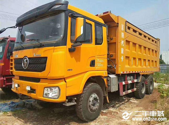 陕汽重卡 德龙X3000 自卸车 超强版 430马力6X4 6.2米自卸车(SX33105C486B)
