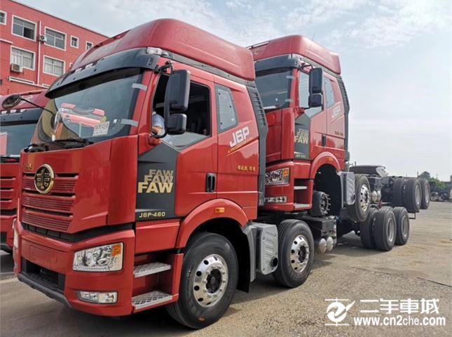 一汽解放 J6P 新J6P重卡 領航南方版 460馬力 6X4牽引車(CA4250P66K25T1A1E5)