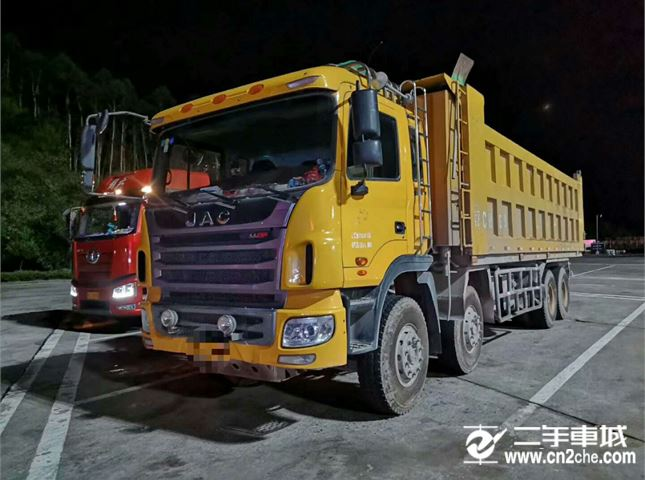 江淮 江淮格爾發K系列 375馬力前四后八自卸車