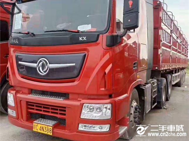 东风 天龙 牵引车 旗舰重卡 520马力 6X4牵引车)