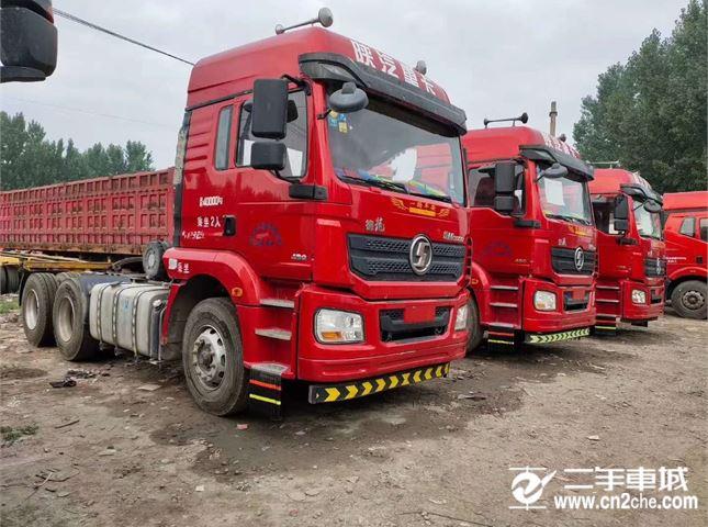 陜汽重卡 德龍新M3000 牽引車 430馬力 6X4牽引車(SX4250MC4)