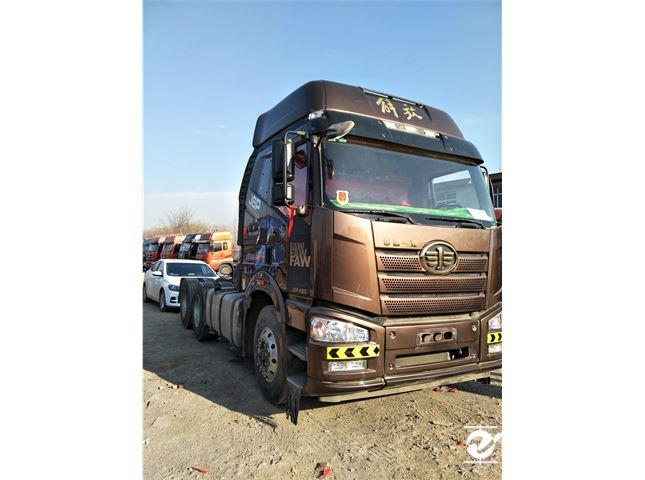 二手载货车一汽解放J6140马力4X2前二后四(标准型)价格18.00万