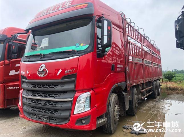 东风柳汽 乘龙 350动力8X4载货车