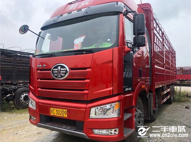 一汽解放 J6P 420动力8X4载货车