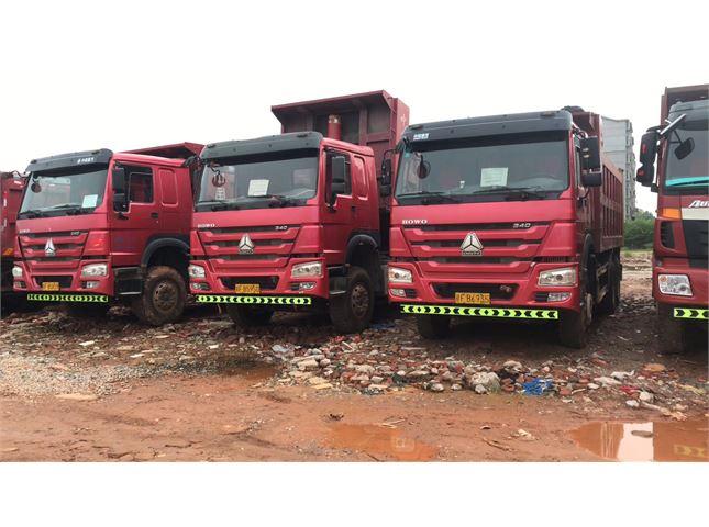 中国重汽 豪沃  A7 豪沃后八轮自卸车,340马力