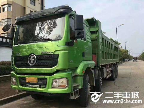 陜汽重卡 德龍X3000 重卡 375馬力 8×4 自卸車