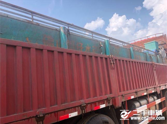 東風 天龍 420動力8X4平板車