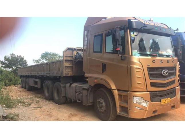 华菱 汉马 牵引车 H7 6x4 430马力 牵引车