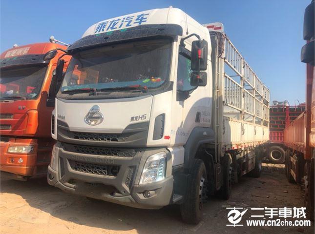 东风柳汽 乘龙 H5 240马力 6X2 7.8米仓栅式载货车(LZ5252CCYM3CB)