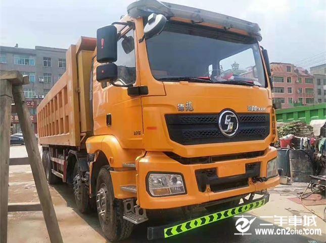 陕汽重卡 德龙X3000 自卸车 重卡 375马力 8×4 自卸车