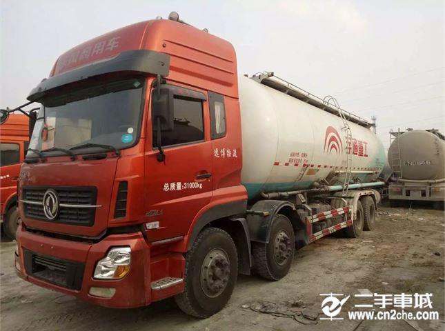 福田欧曼出售二手前四后八水泥罐车德龙欧曼豪沃汕德卡等原车原版价格16.30万