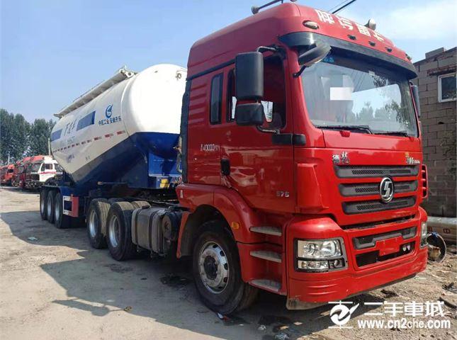 陜汽重卡 德龍新M3000 牽引車 375馬力 6X4牽引車(SX4250MB4)