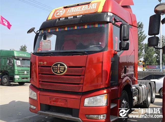一汽解放 J6P 牵引车 J6P重卡 500马力 6X4牵引车