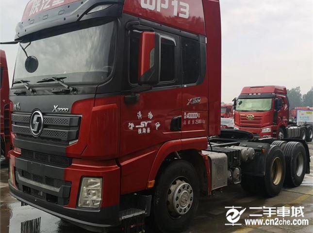 陕汽重卡 德龙X3000 牵引车 500马力 6X4牵引车(SX4250XC4Q2)